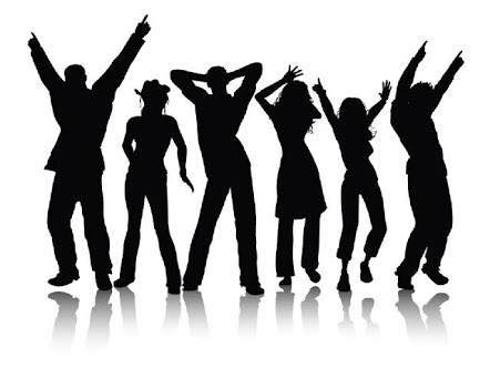 Image of Linedancing silhouettte