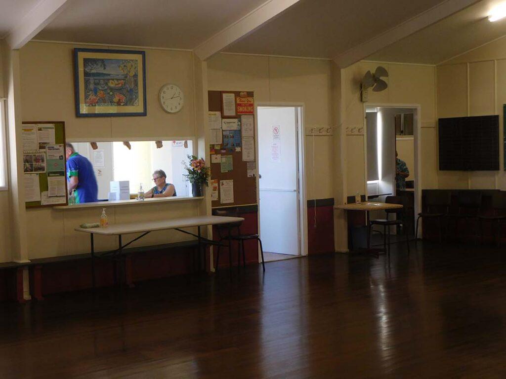 Image of inside Currimundi Hall