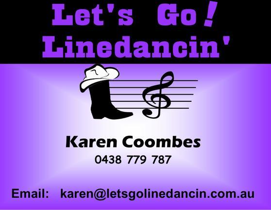 Image of Let's Go! Linedancin' logo
