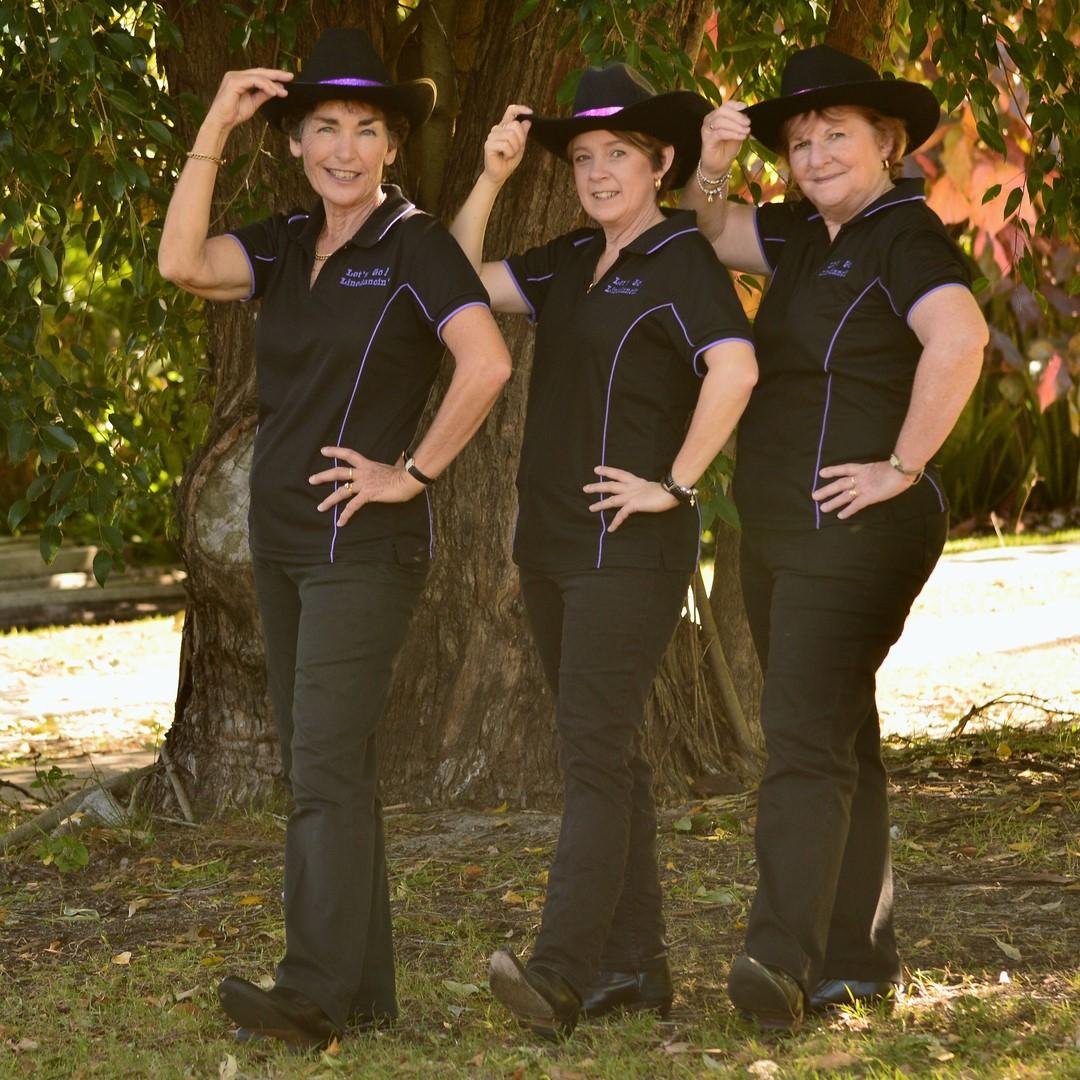 Image of Let's Go Lindedancin' group.