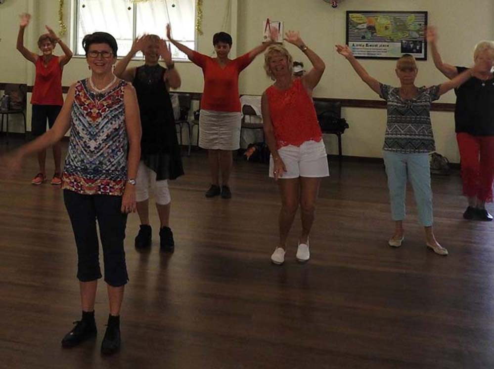 Image of Catch Up linedancing