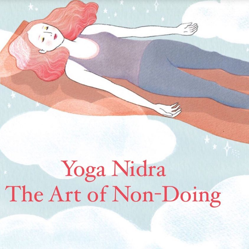Image of Drawing with test 'Yoga Nidra The Art of Non-Doing
